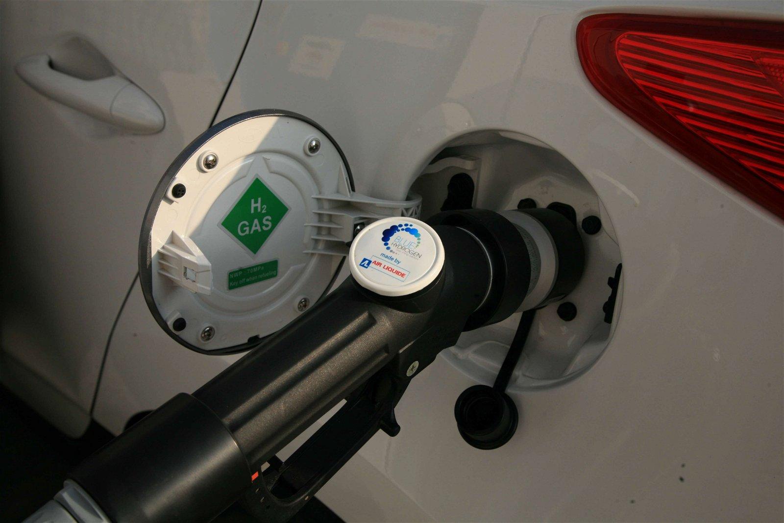waterstof tanken bij Air liquide Rhoon | Hoppenbrouwers Techniek