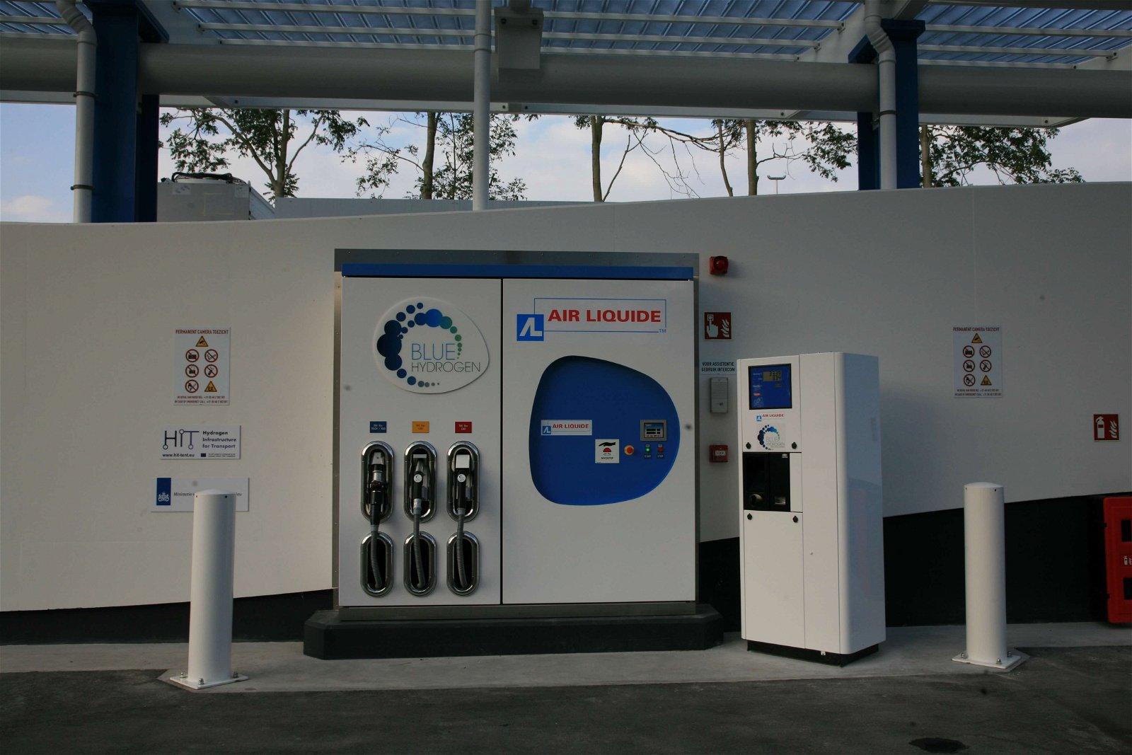 Op waterstof rijden door Air Liquide | Hoppenbrouwers Techniek