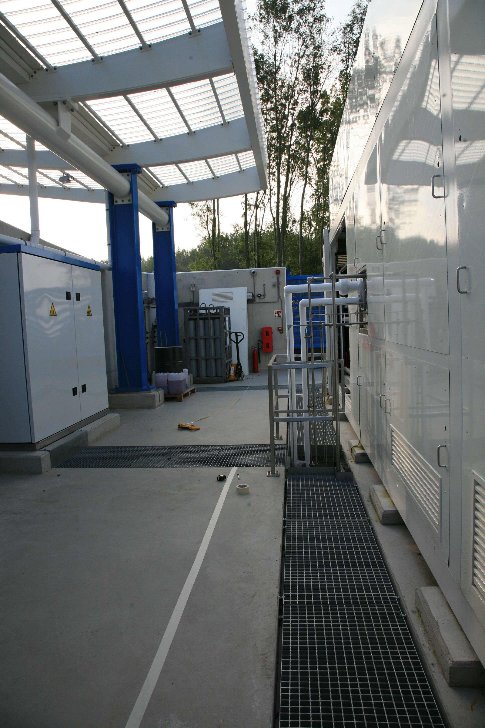Hoppenbrouwers Techniek verzorgde de technische installaties bij Air Liquide Rhoon