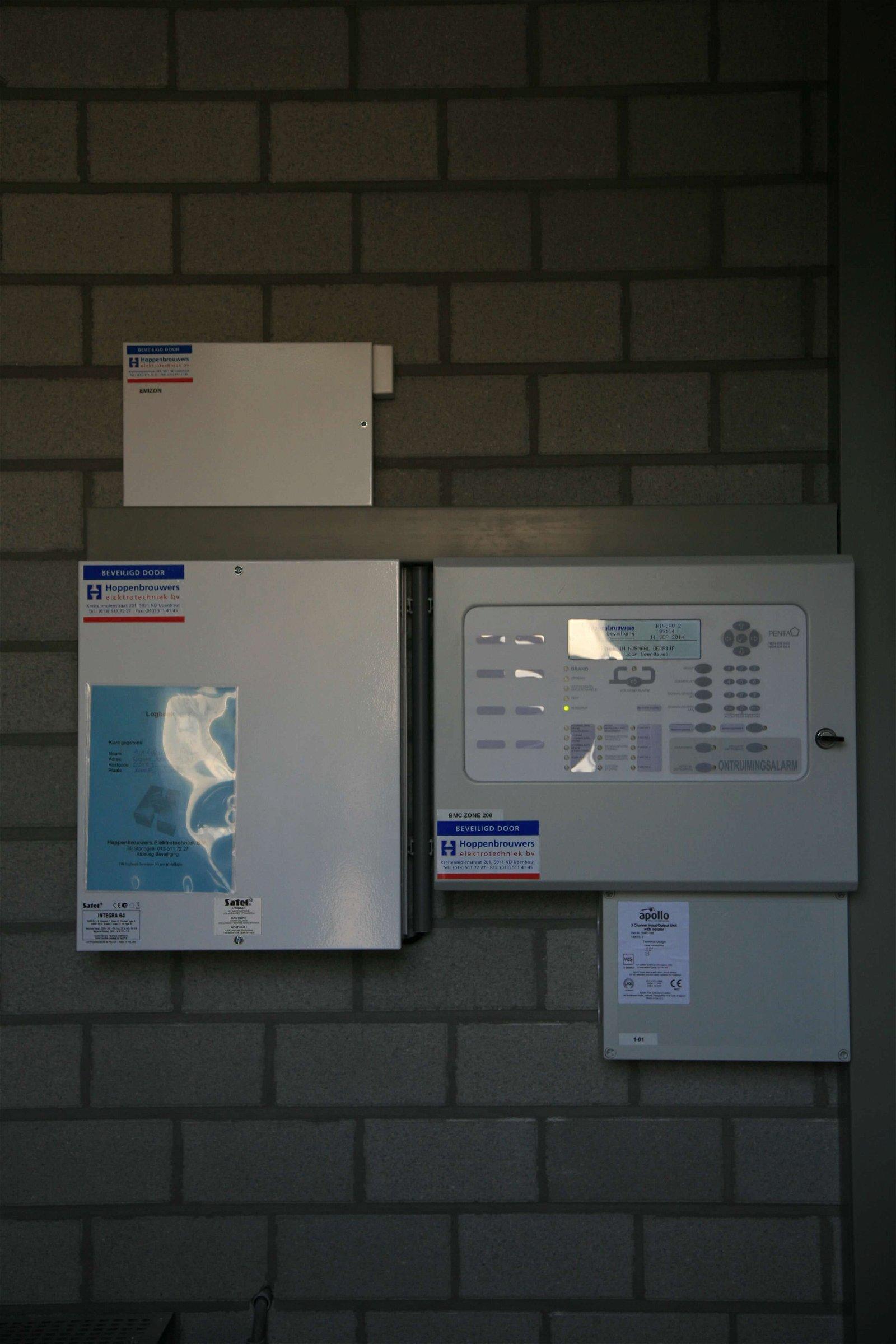 Beveiligingskasten bij Air Liquide Rhoon door Hoppenbrouwers Techniek