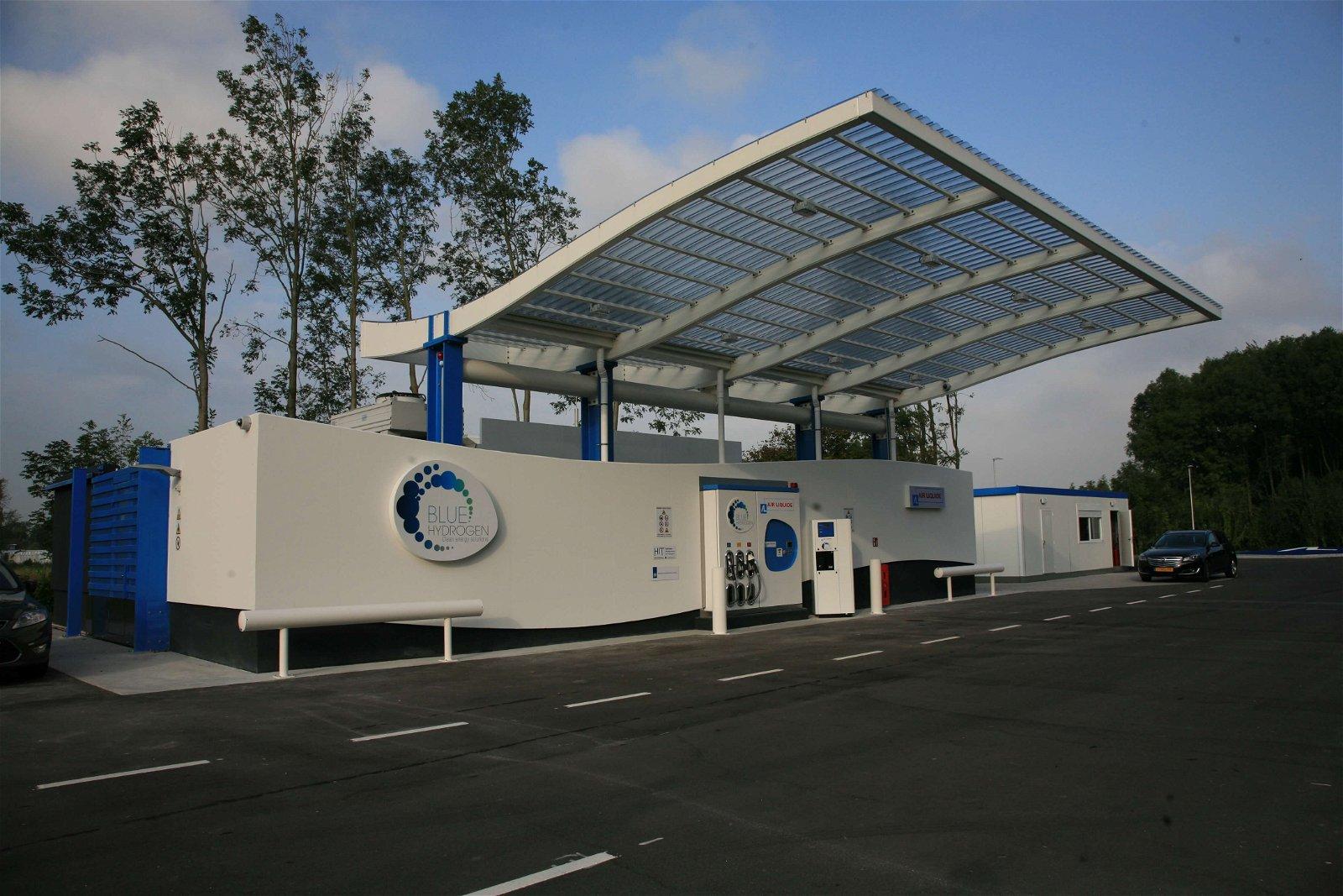 Waterstof tankstation Air Liquide Hoorn door Hoppenbrouwers Techniek