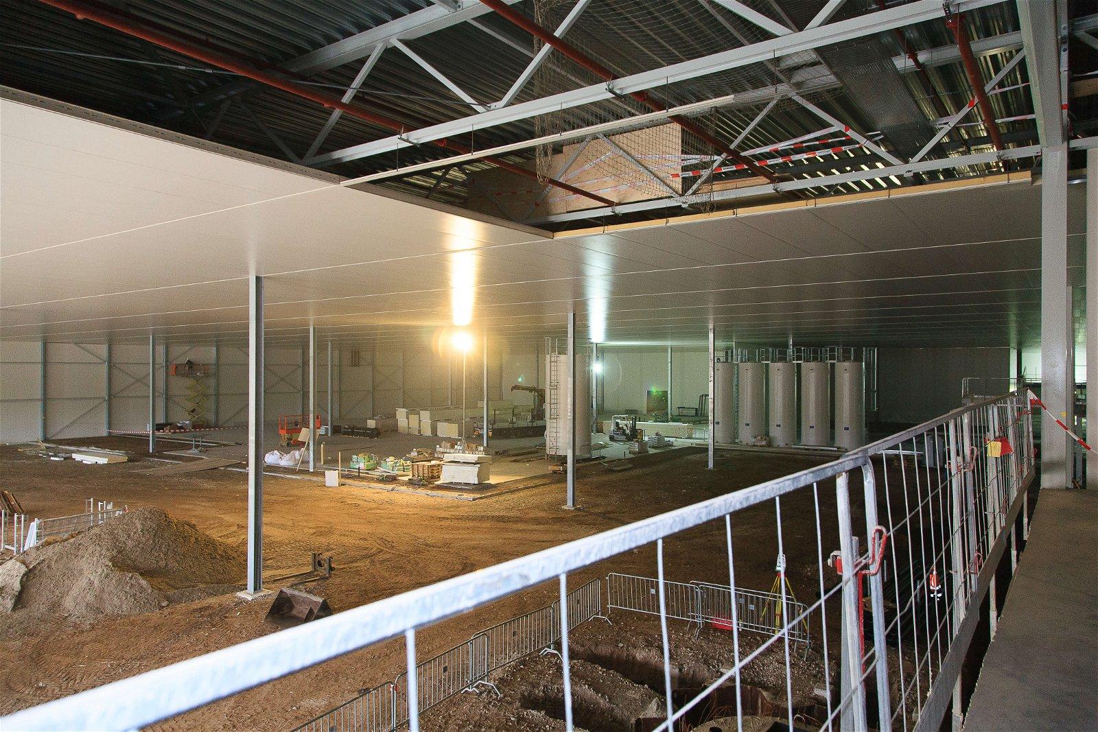 Hoppenbrouwers werkte mee aan de nieuwbouw voor Staay Food Group