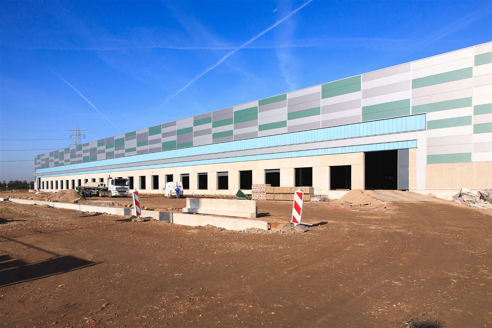 Nieuwbouw distributiecentrum op Park15 in samenwerking met Hoppenbrouwers Techniek