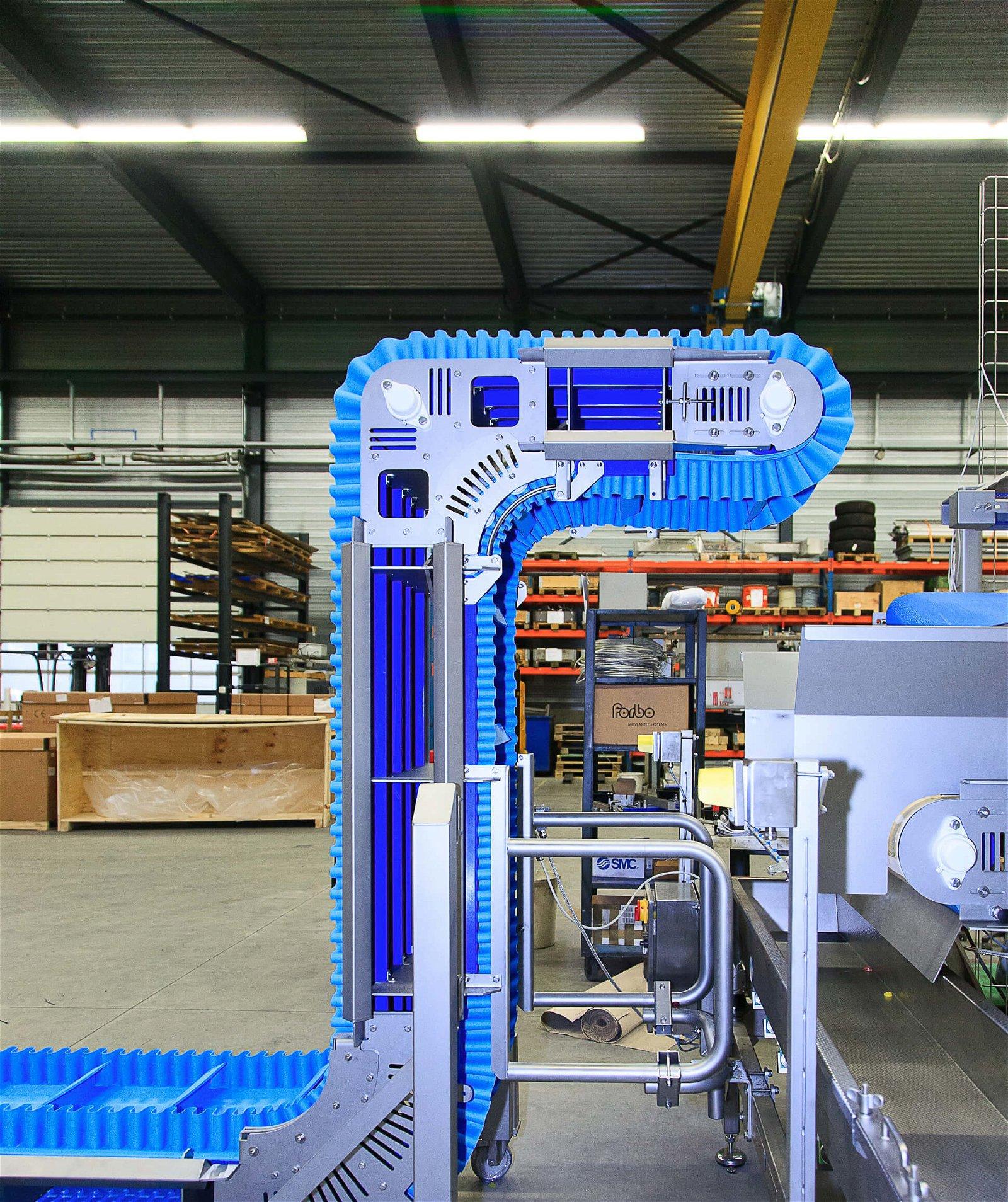 Technische installatie voor snoepfabrikant in samenwerking met Hoppenbrouwers Techniek