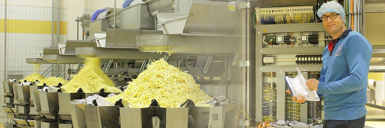 Agristo nieuwbouw fritesfabriek