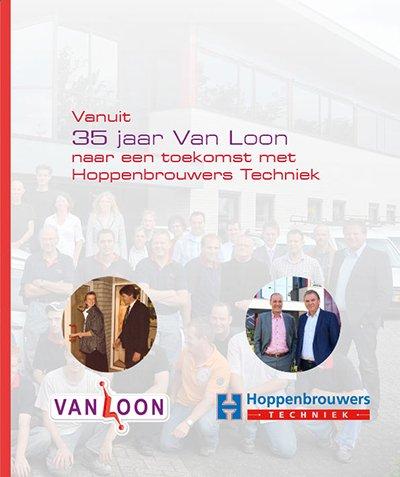 Boek 35 jaar van Loon naar een toekomst met Hoppenbrouwers Techniek