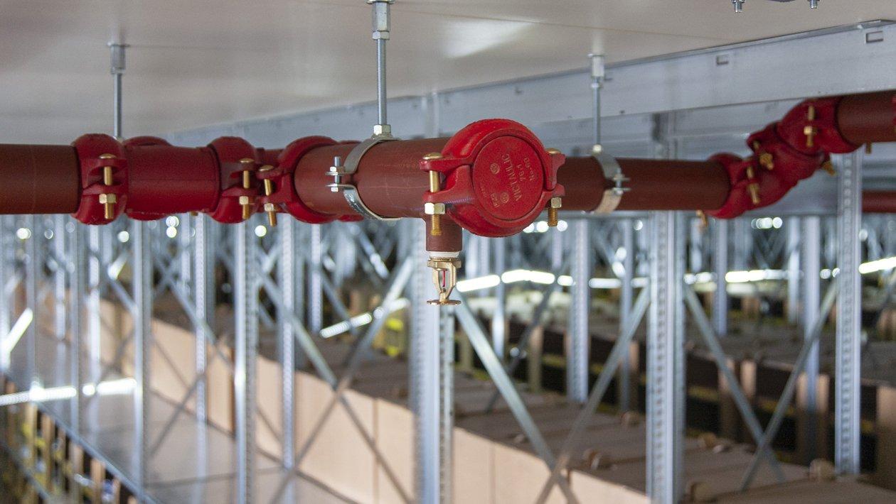 Sprinkler voor Distributie en Logistiek