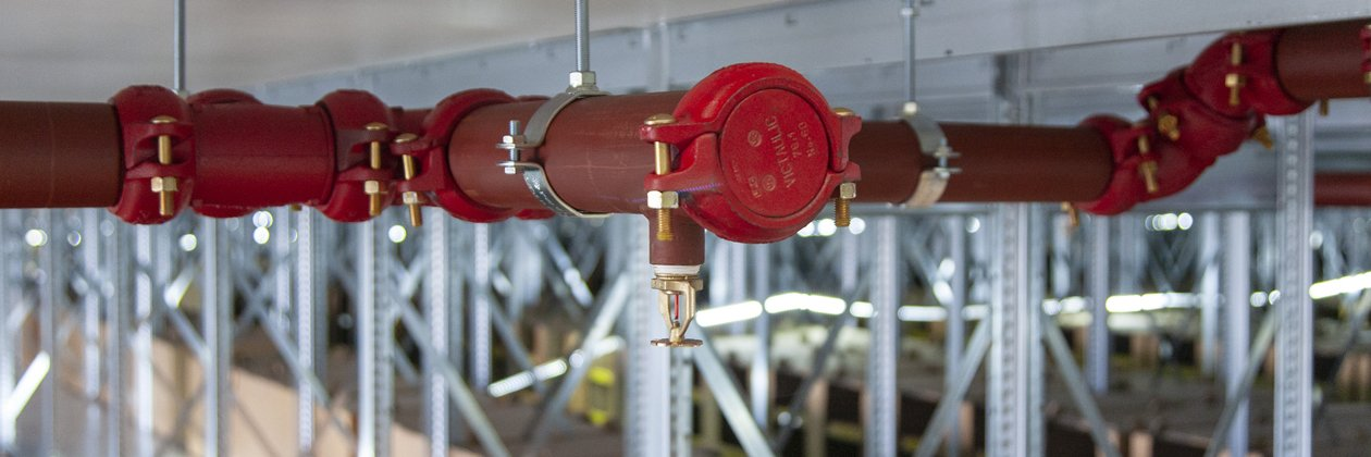 Sprinkler voor distributie & logistiek