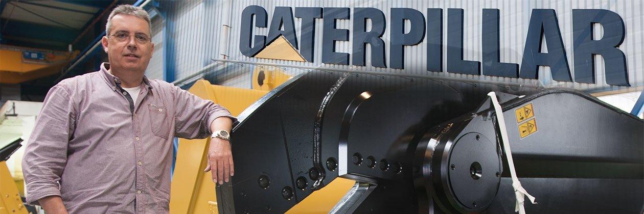 Gerrit-Jan Leeijen van Caterpillar
