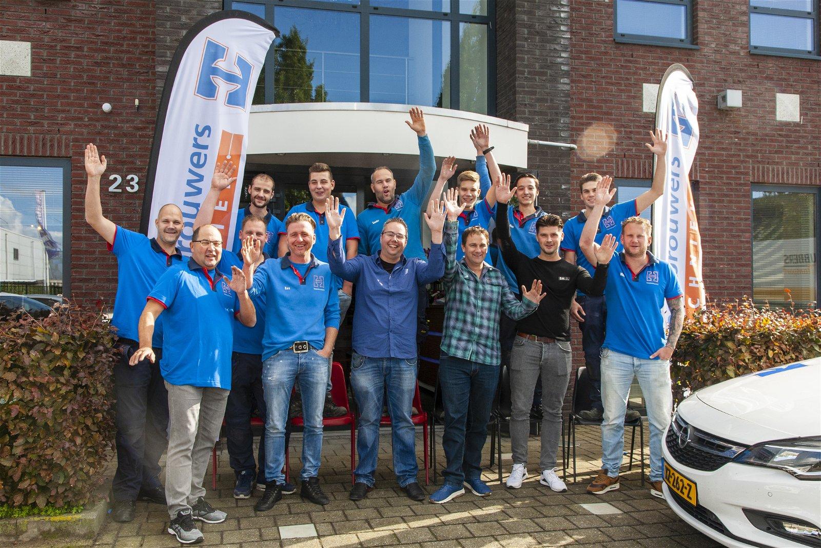 Medewerkers van Hoppenbrouwers Techniek Breda