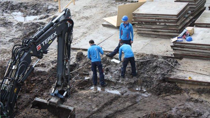 Voorkom fouten achteraf en laat Hoppenbrouwers de kabelleiding opsporen voor een voortvarend bouwproject.
