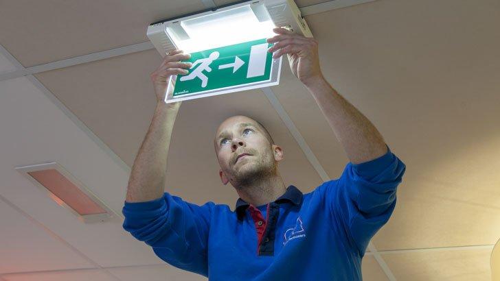 Inspectie: Noodverlichting inspecteren