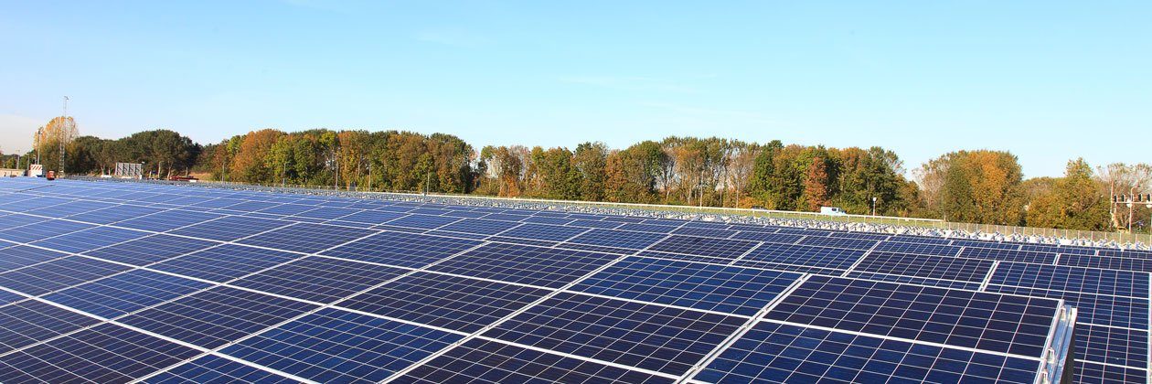 zonnepanelenparken