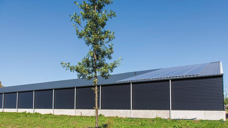 Zonnepanelen bij Petanque Vereniging V.O.P. Udenhout