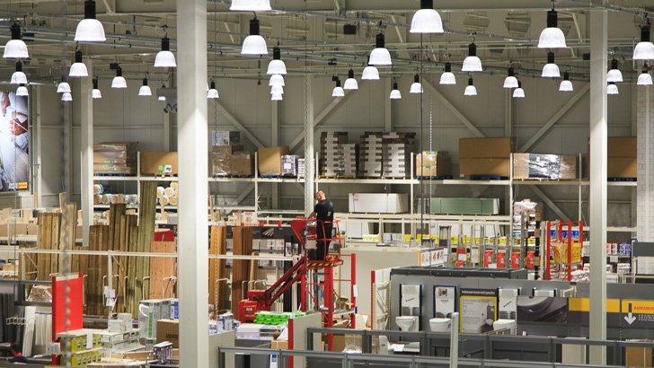Elektrotechniek voor retail