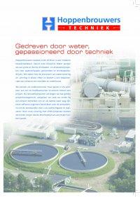 Flyer van cluster water 2016