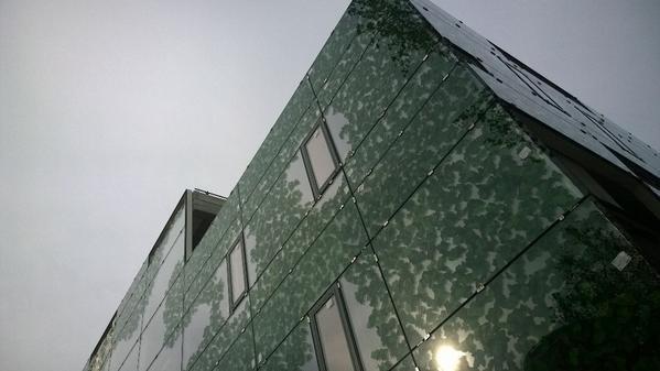 Onderaanzicht FAXX gebouw in samenwerking met Hoppenbrouwers Techniek
