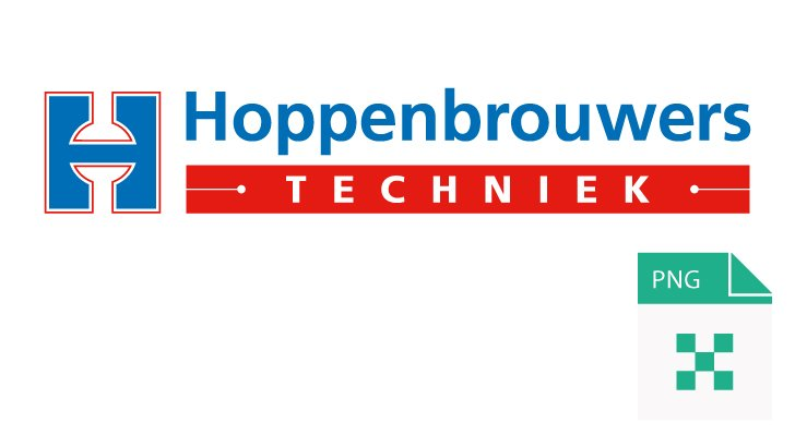 PNG Logo Hoppenbrouwers Techniek