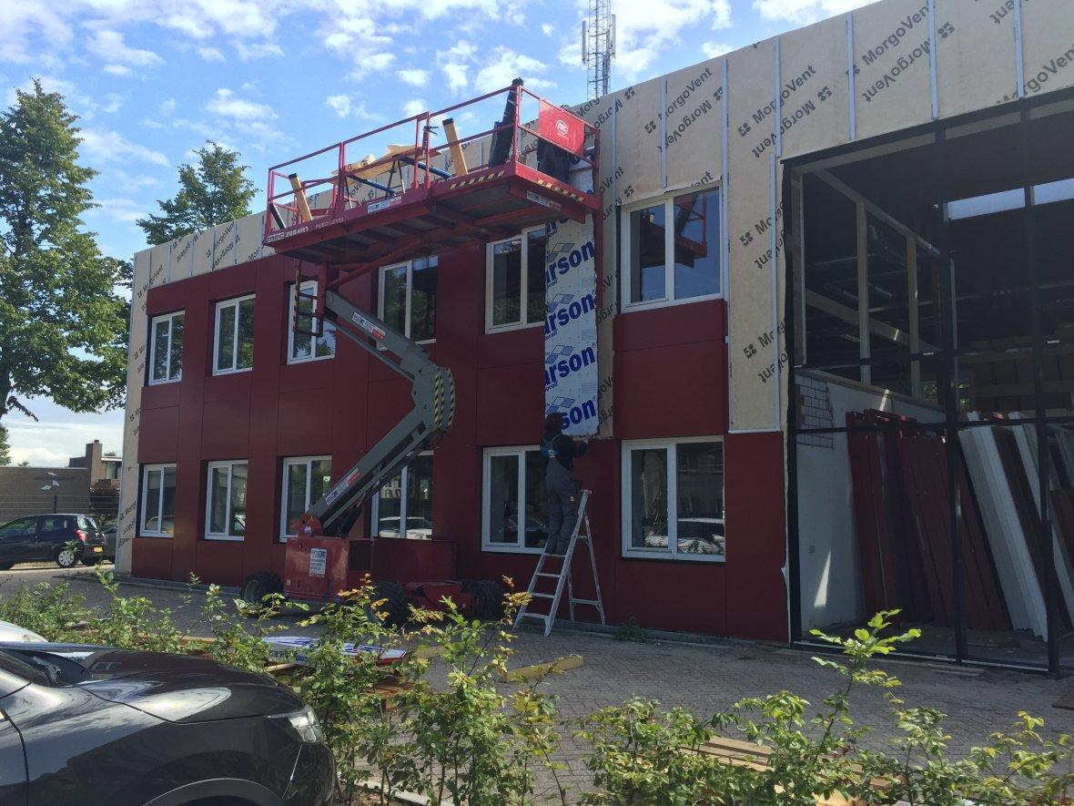 Renovatie van de broedplaats van Hoppenbrouwers Techniek