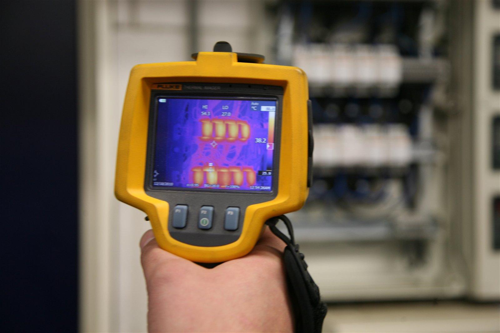 Inspecteer preventief met thermografie om onnodig stilstand te voorkomen.