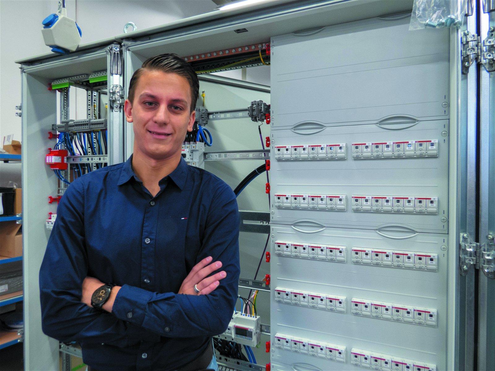 Projectleider Geert Jacobs van Hoppenbrouwers Techniek