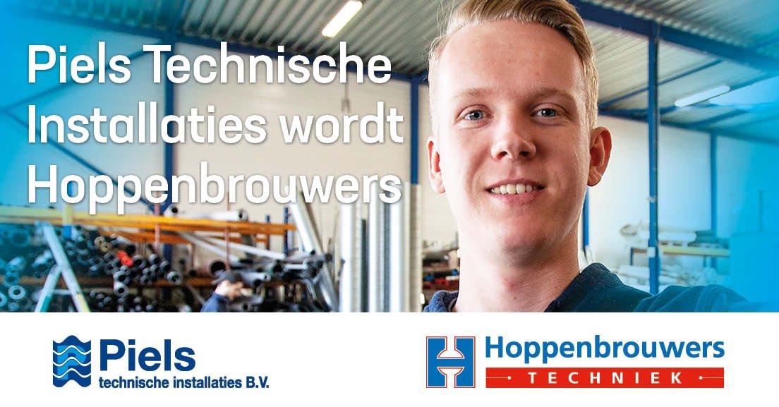 Piels Technische Installaties wordt Hoppenbrouwers