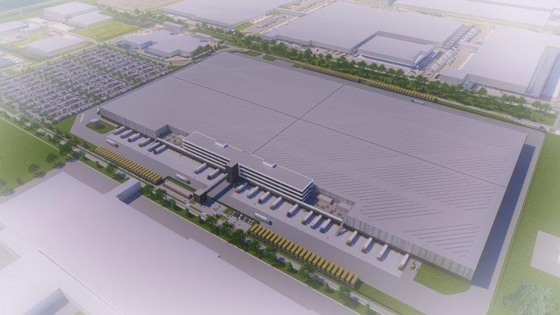 Nieuw project: XXL distributiecentrum voor Zalando in Bleiswijk