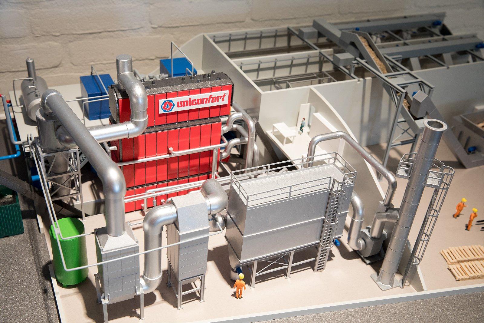 Hoppenbrouwers Techniek werkte mee aan een project in de biomassacentrale bij Dongen Pallets