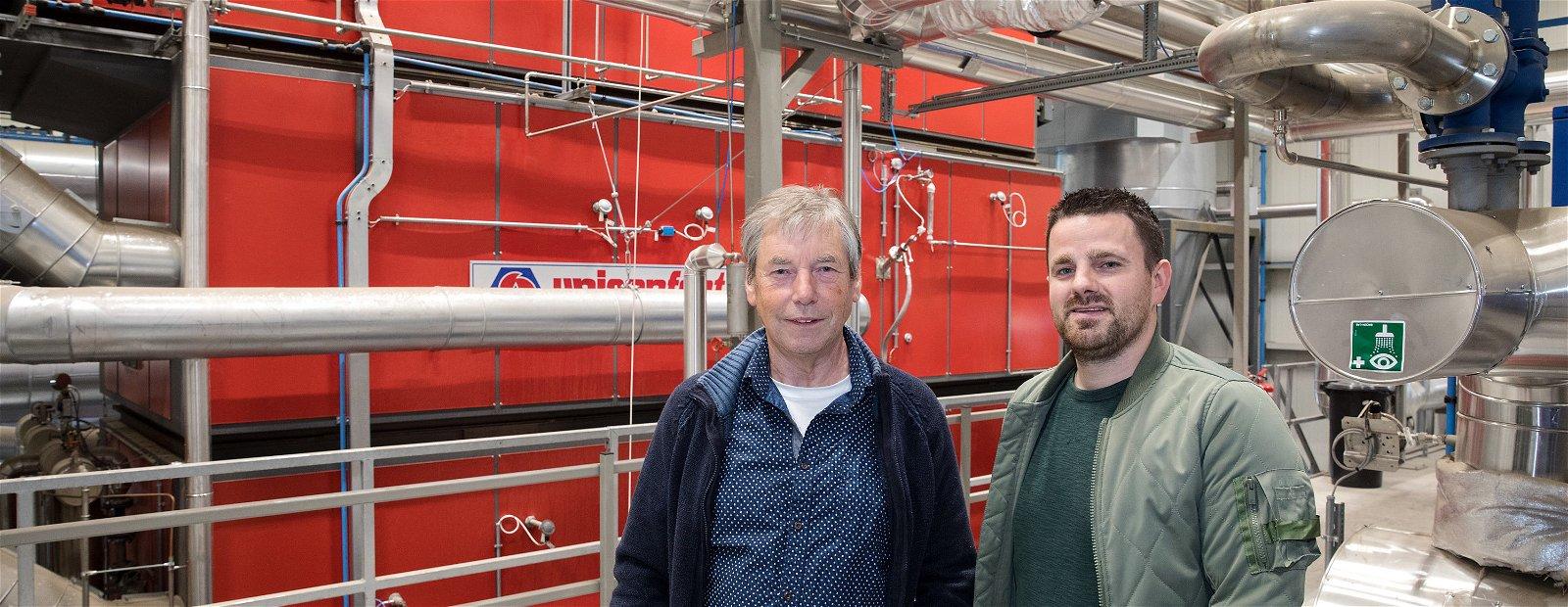 Biomassacentrale bij Dongen Pallets