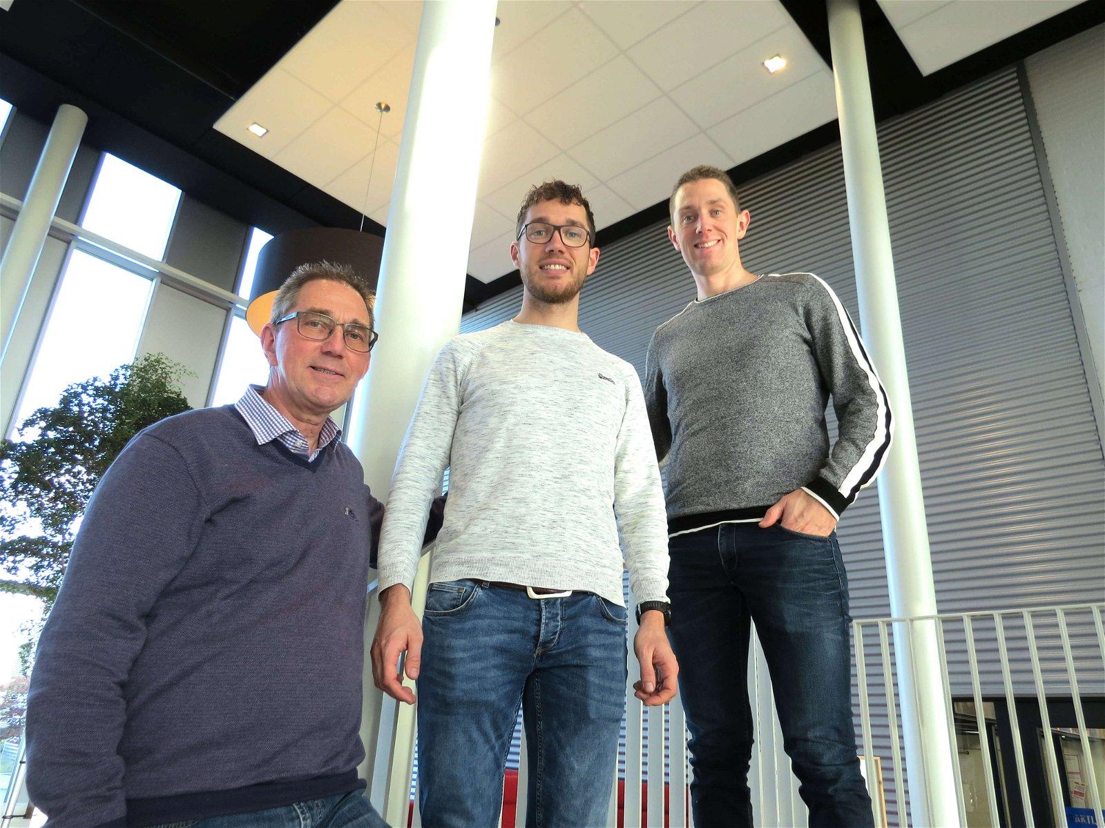 Niels, Geert en Ton van Kuijk van Hoppenbrouwers Techniek