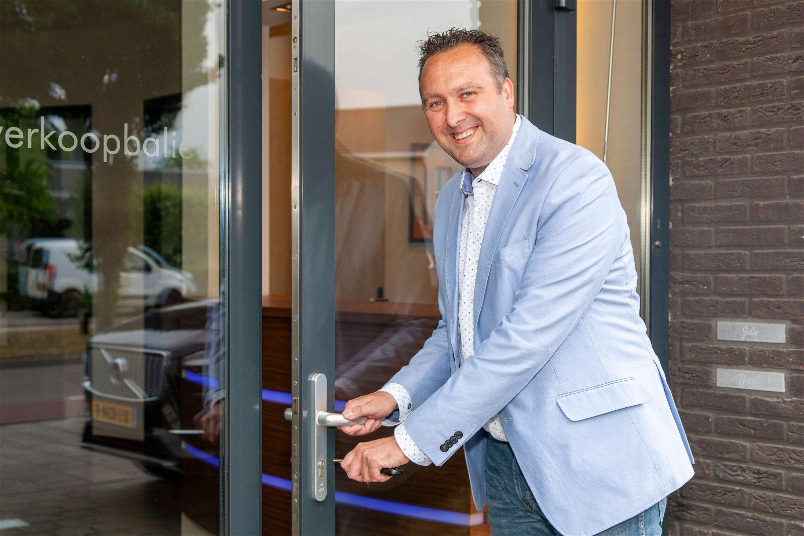 Vestigingsleider Wesley Bleijenberg van Hoppenbrouwers Techniek Breda
