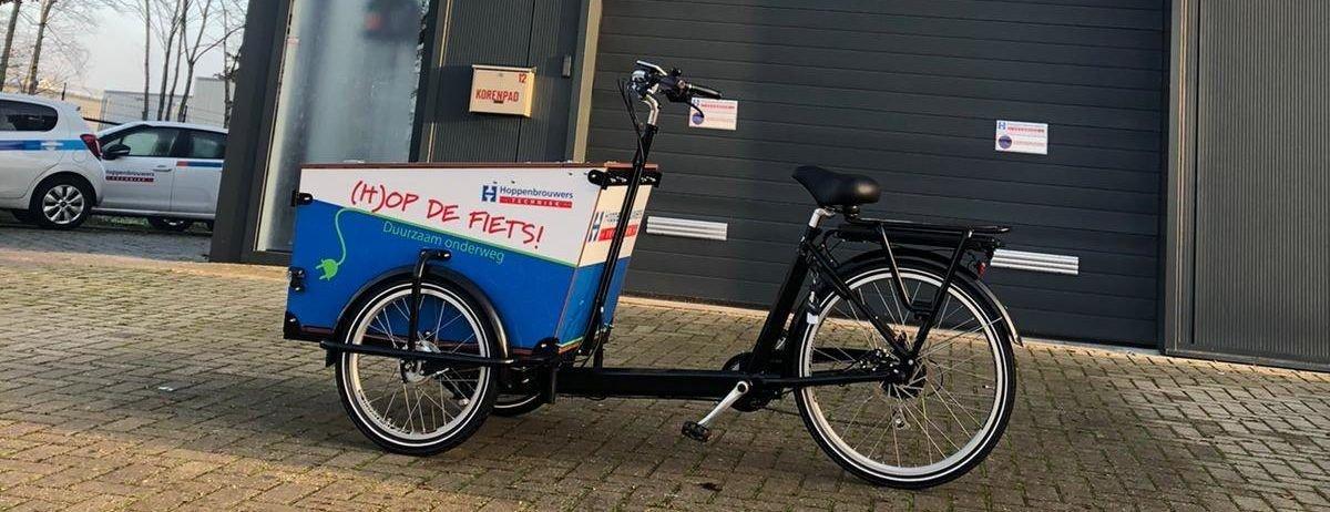 Duurzaam, lokaal onderweg: doe het goed met (H)op de fiets