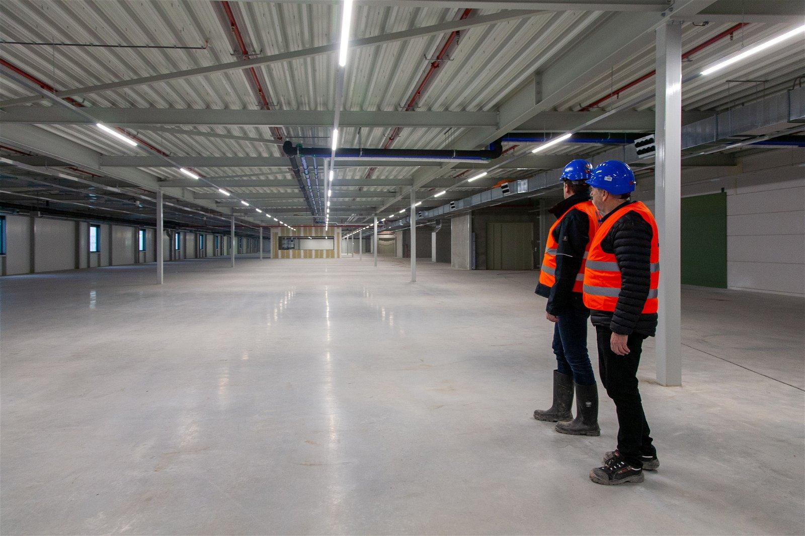 Hoppenbrouwers Techniek werkte aan fase 2 van het fulfilment center van Bol.ocm