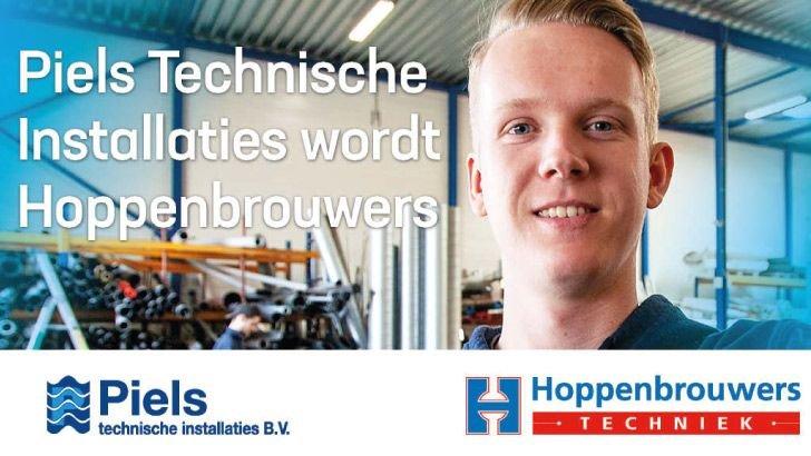 Peils Technische installaties wordt Hoppenbrouwers Techniek