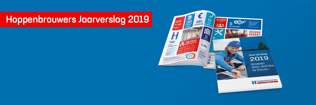 Jaarverslag Hoppenbrouwers: omzetstijging van 20% in 2019