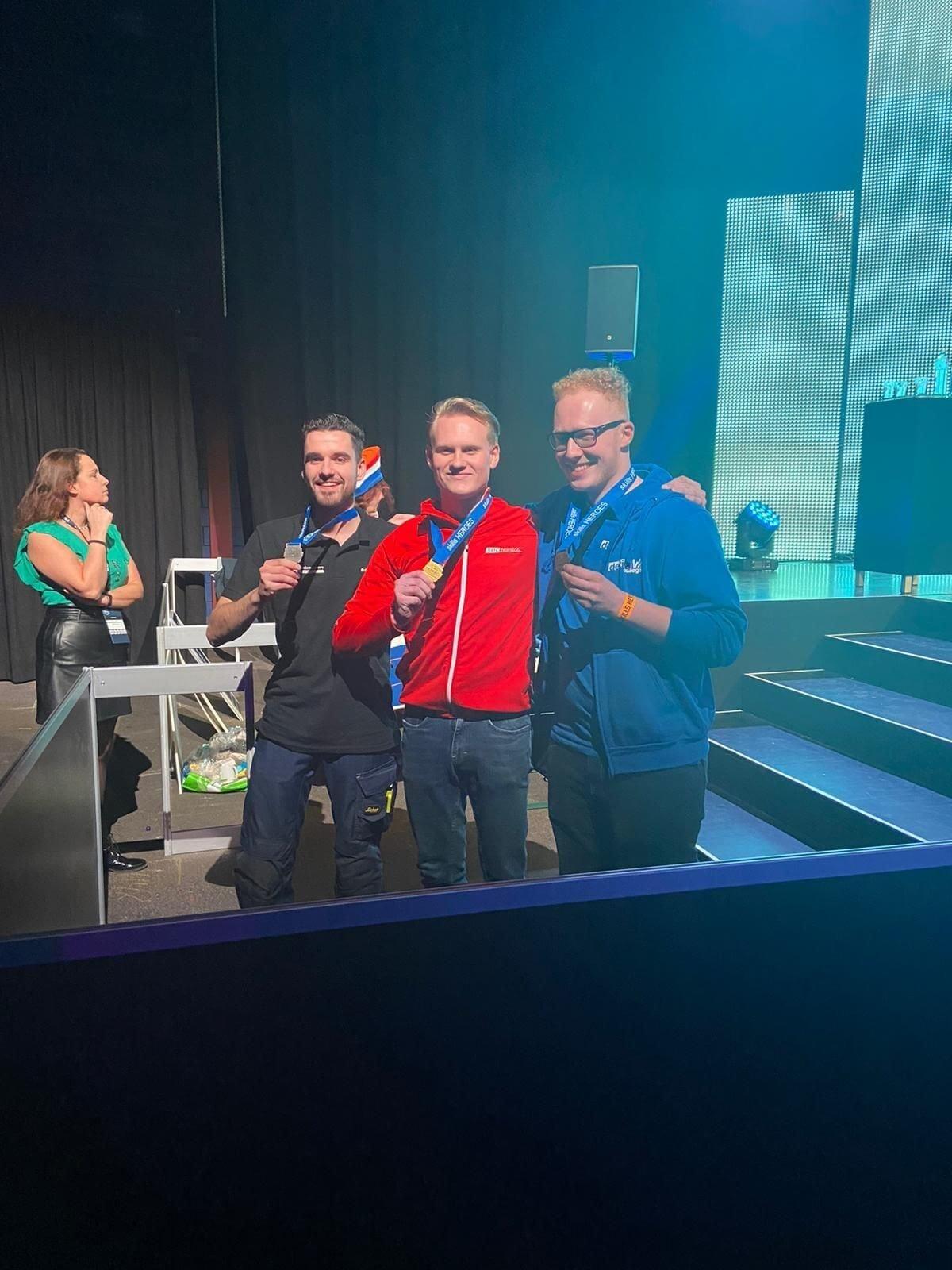 Matthijs Mulders wint zilver bij Skills Heroes