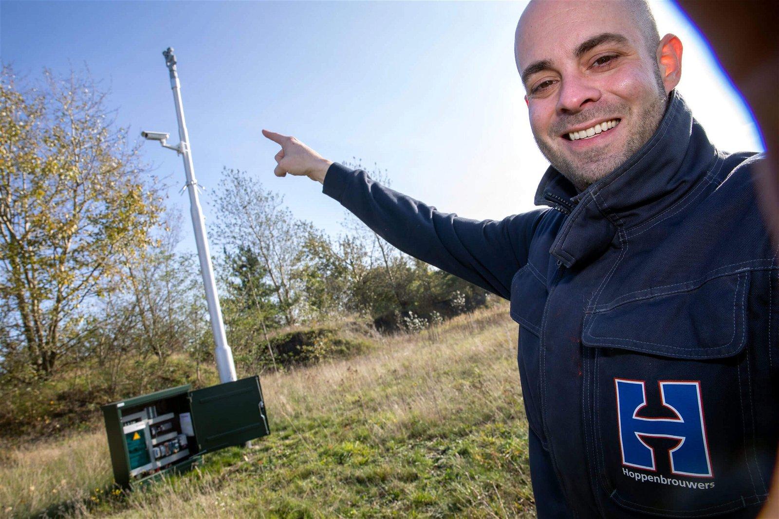 Hoppenbrouwers verzorgt beveiligingsschil om overheidsterrein