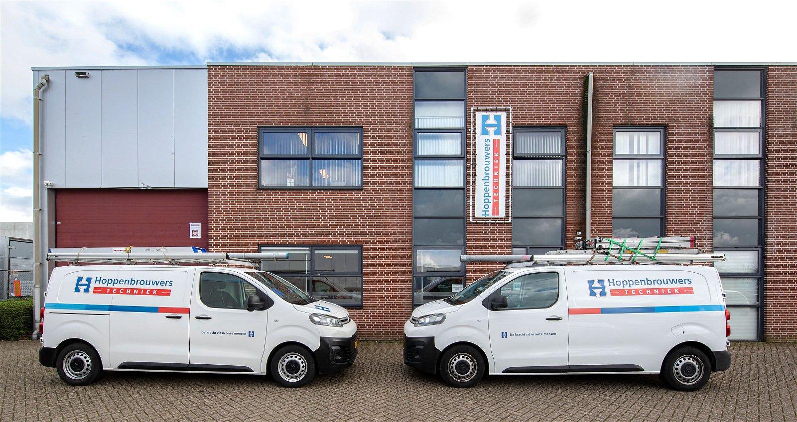 De Hoppenbrouwers vestiging in Roosendaal breidt uit