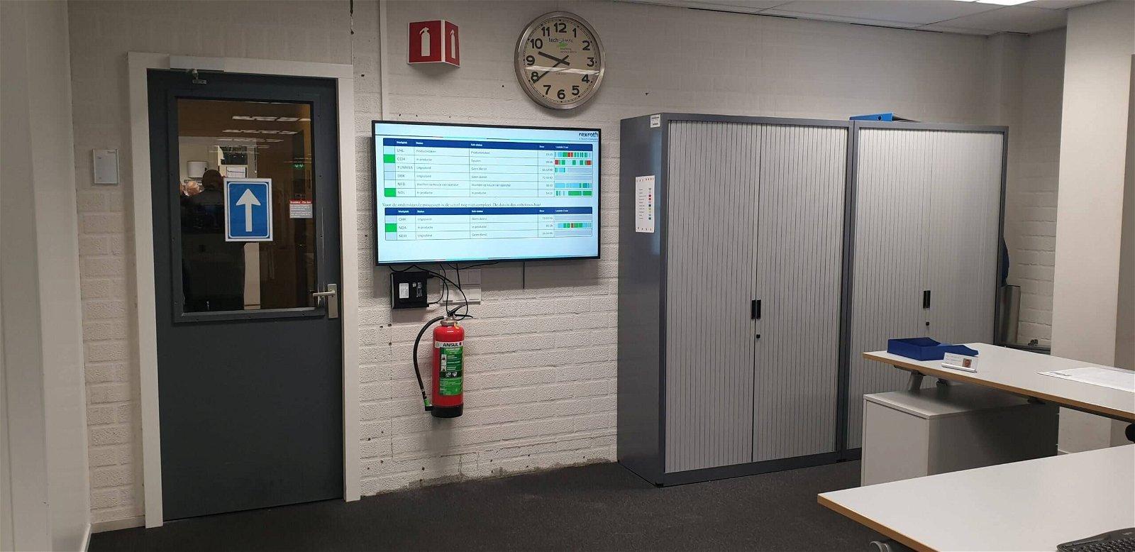 Productieproces in kaart brengen voor Bosch Rexroth