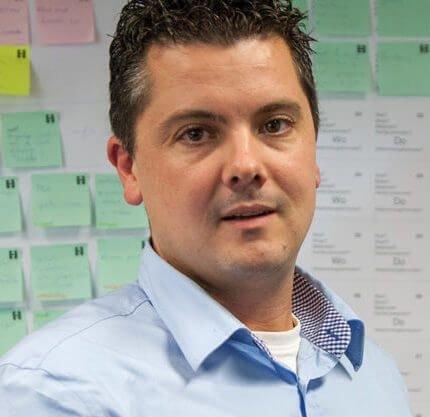 Specialist beveiliging Koen van den Hurk