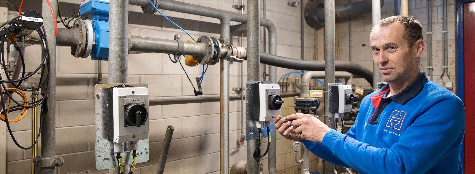 Afvalwaterzuiveringsinstallatie voor Tank Services Pernis