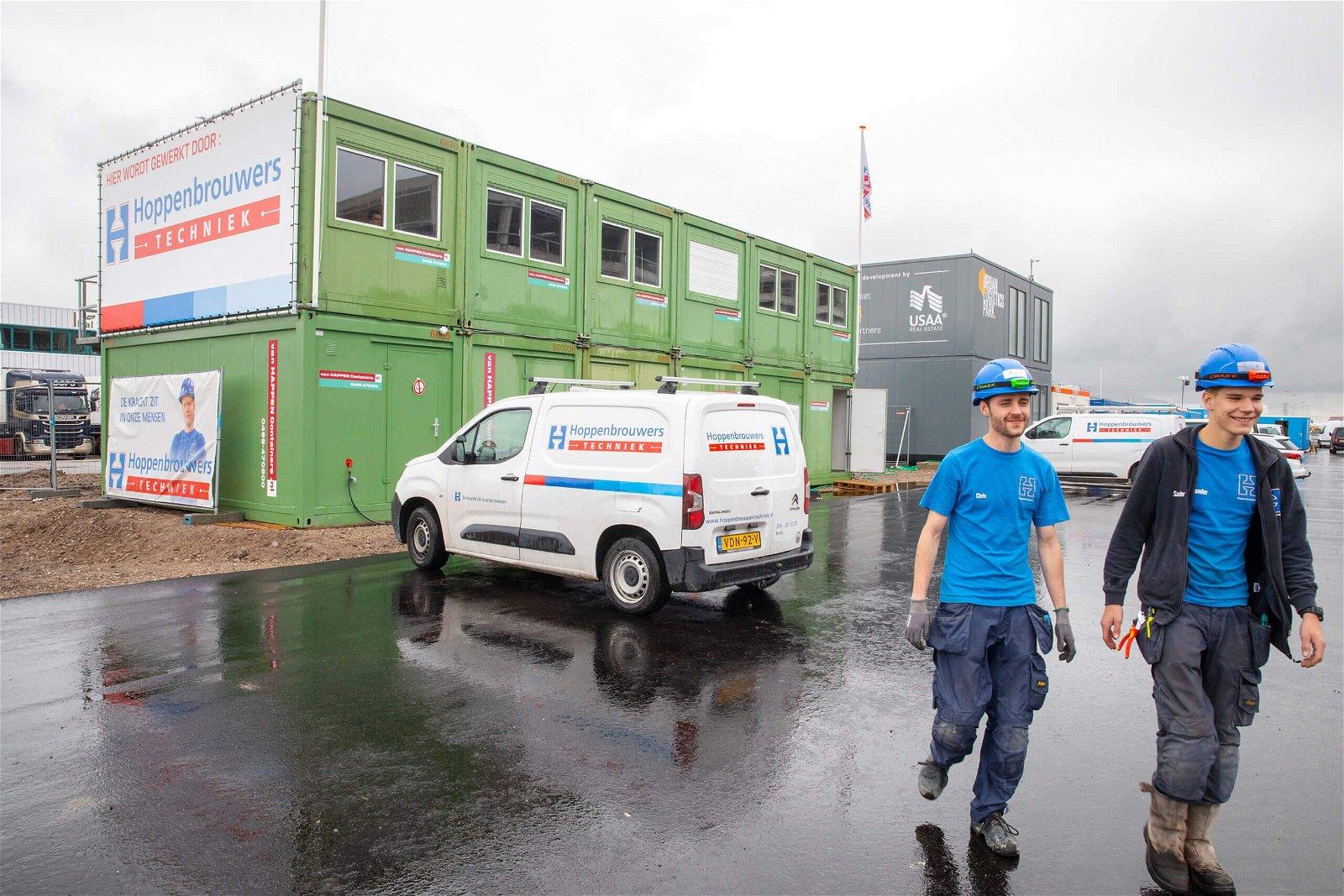 Hoppenbrouwers Distributie centrum Zalando Bleiswijk,