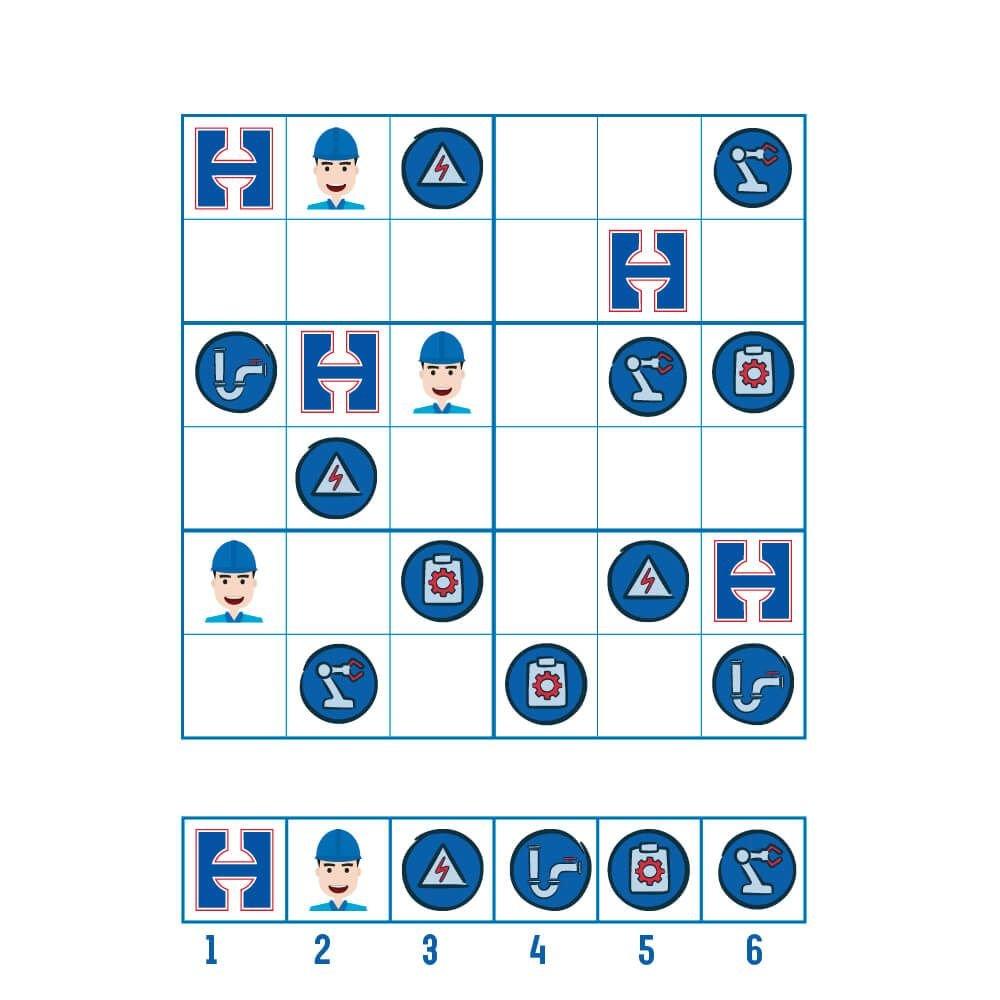 Speel nu de Hoppenbrouwers Techniek Sudoku!