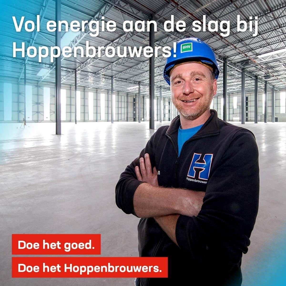 Vol energie aan de slag bij Hoppenbrouwers!