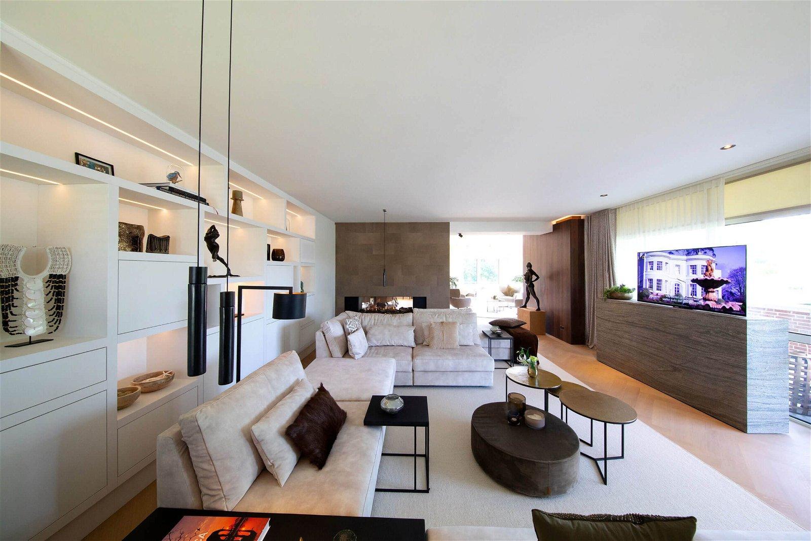 Hoppenbrouwers Techniek realiseerde een compleet domotica concept voor een luxe appartement
