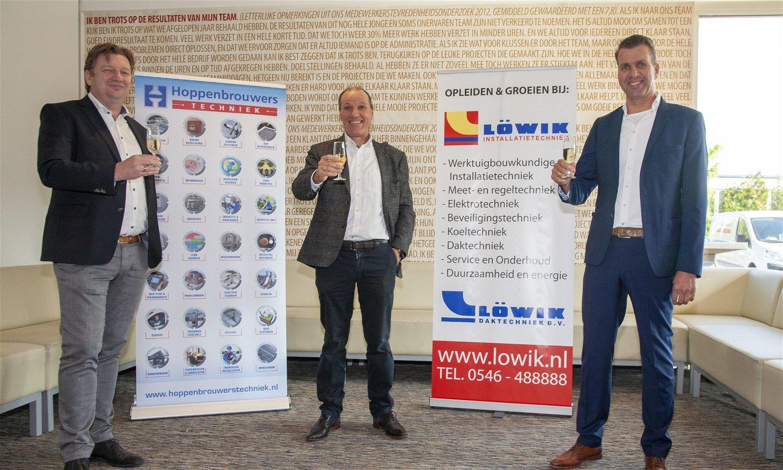 Löwik Installatietechniek sluit zich aan bij Hoppenbrouwers Techniek