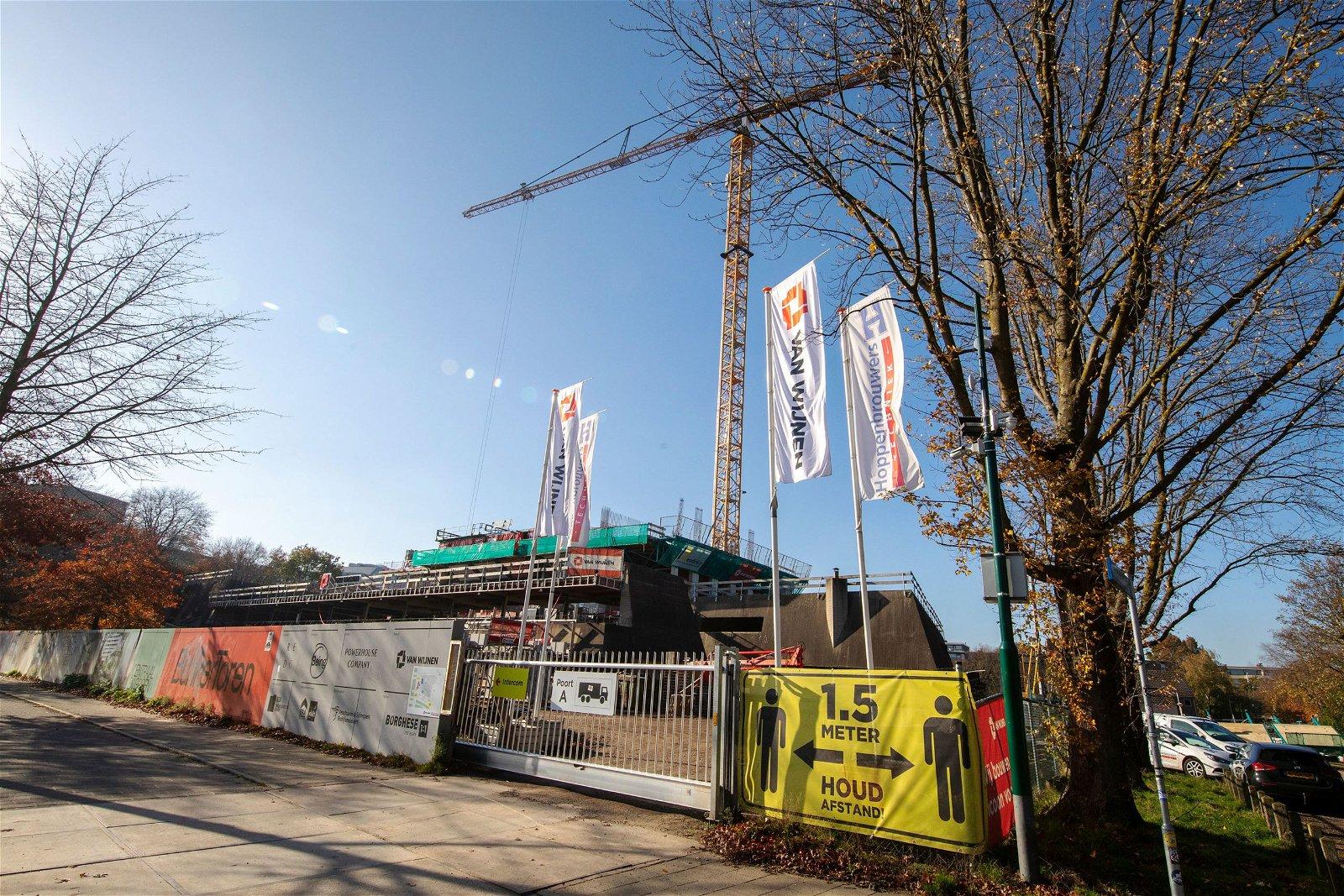 De bouw van de BunkerToren is in 2022 afgerond.