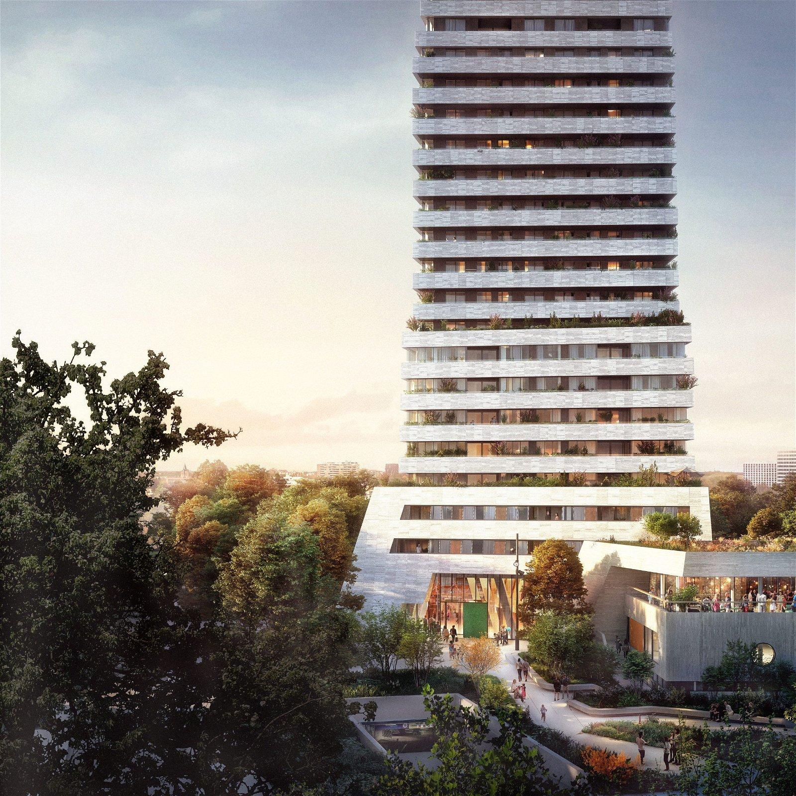 Installatiebedrijf Eindhoven - Hoppenbrouwers Techniek project BunkerToren