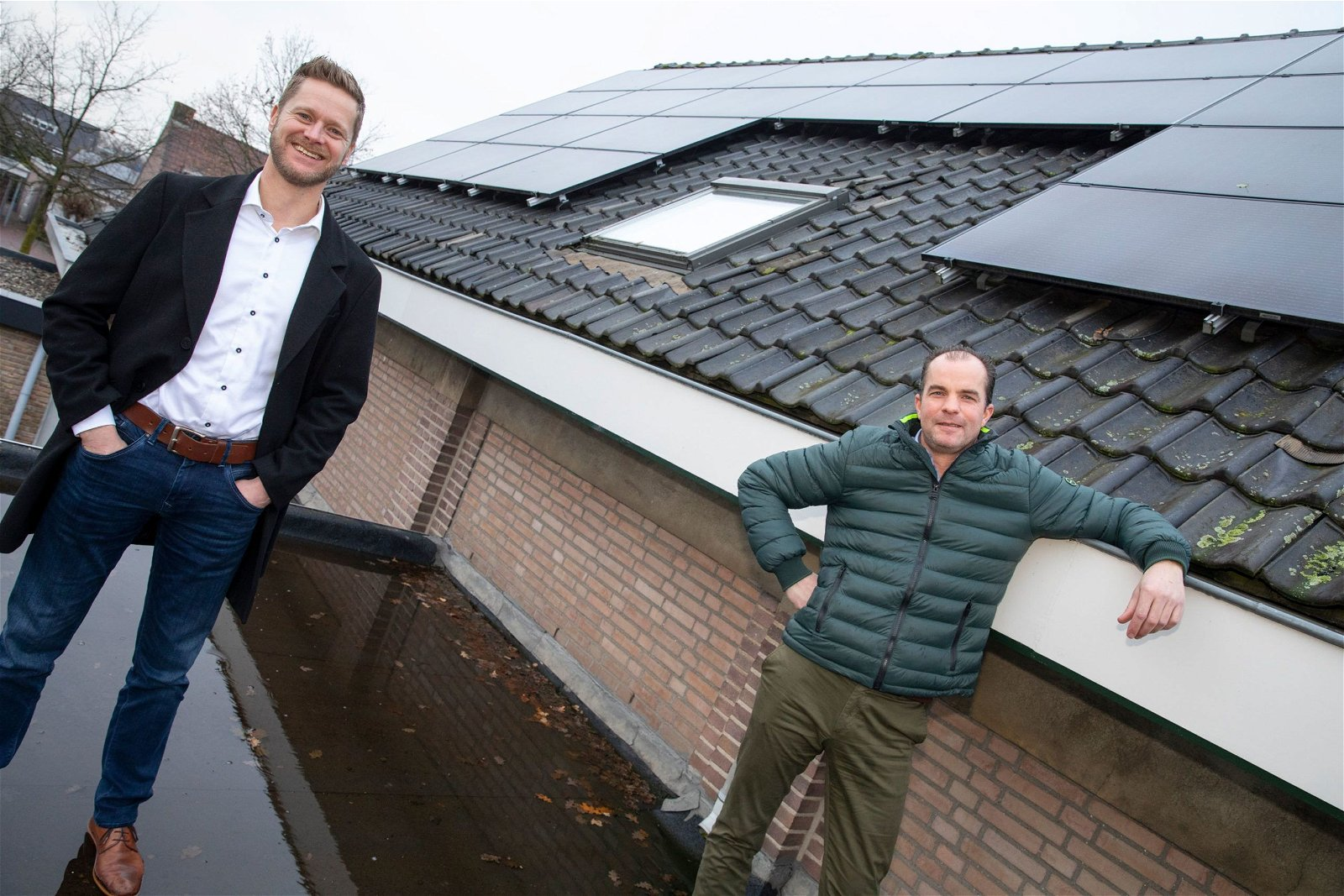Wouter hendrikx Clusterleider Duurzaam en Projectleider Bas Tekath van Hoppenbrouwers Techniek
