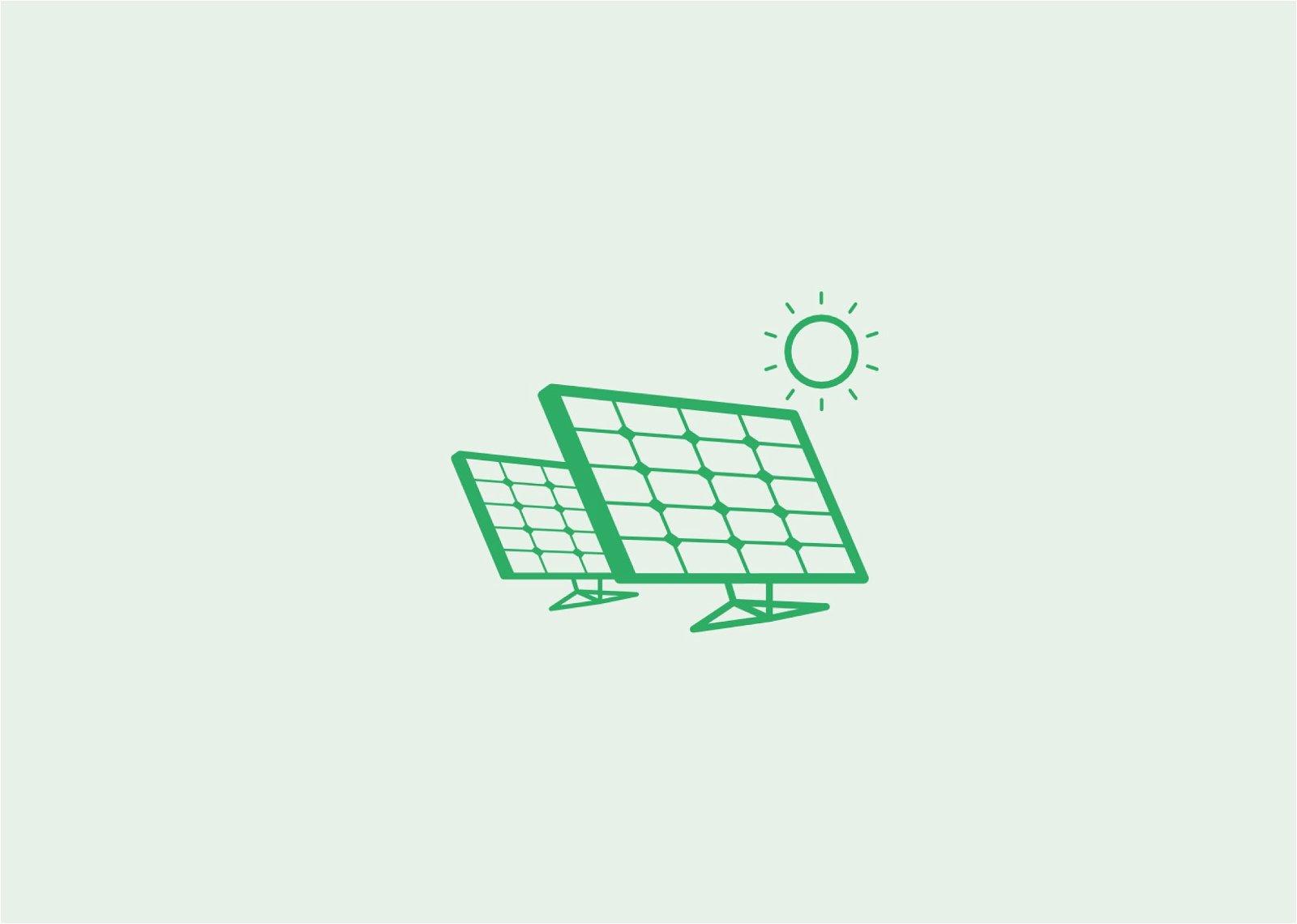 Bedrijfsdaken en -velden voorzien van zonnepanelen door Hoppenbrouwers Techniek